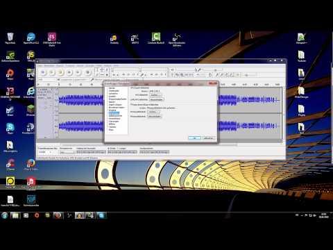 Tutorial #1 - Audacitydatei in MP3-Datei umwandeln!!!