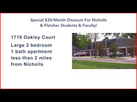 Apartment for rent in Thibodaux LA 1719 Oakley Ct apartment 8 thumbnail