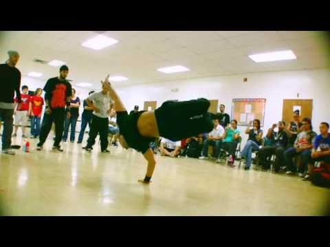 B Boy Q90 - Break Dancers - Break Dance Battle - Best Shot Footage - HD Stock Footage