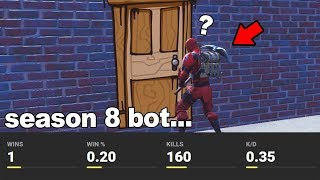 EXPOSING the WORST Season 8 DEFAULTS stats on Fortnite...