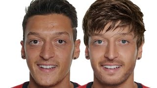Mesut Özil - Extreme Makeover Photoshop