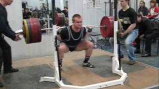 Nick Zhukov RAW Squat progress 2003-09 drugfree