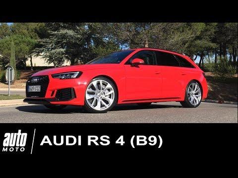 Audi RS4 (B9) 2018 Essai POV Paul Ricard Auto-Moto.com
