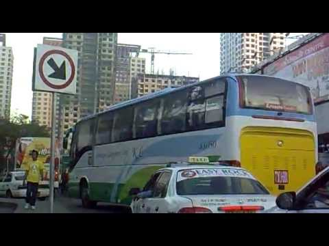 ARANETA CENTER TEMPORARY BUS TERMINAL Cubao Quezon city philippines