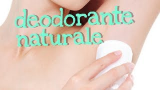 DEODORANTE NATURALE DEO STICK FATTO IN CASA - DIY homemade natural deodorant