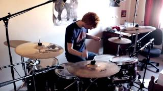 Endlessly - MUSE Drum Cover (with Mics)