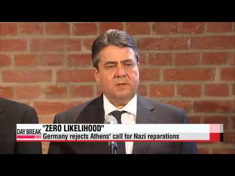 Germany rejects Athens′ call for Nazi reparations   독일 부총리