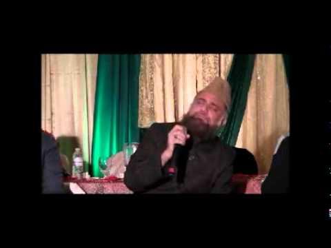 Hazrat Alhaaj Qari Peer Syed Fasihuddin Soharwardi Shah sahib inToronto Mehfil N
