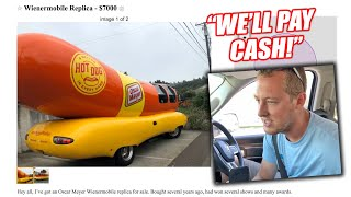 I Tried To Buy an Oscar Meyer Wiener Truck Off of Craigslist