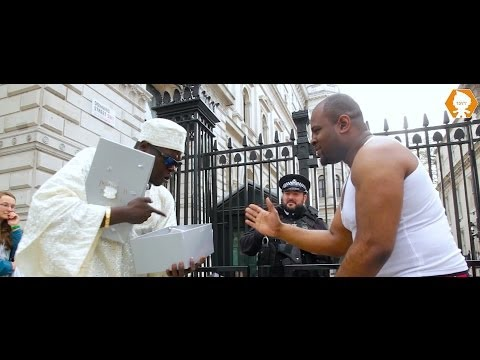 African Prince Visits 10 Downing Street