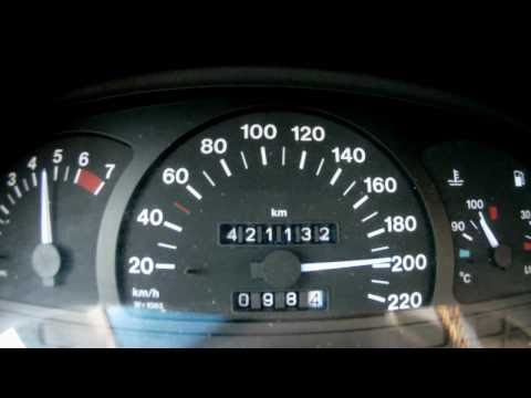 Opel Vectra A 1 8i 90ps 0 200 Km H