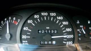 Opel Vectra A 1.8i 90PS    0-200 km/h    0-100 km/h in 13,8 sek.