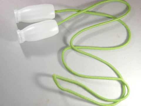 C mo hacer una cuerda para jugar brinca la cuerda youtube - Cosas para construir en casa ...