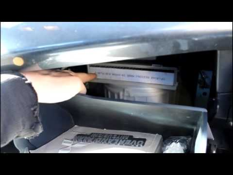 how to  2008 Mitsubishi lancer cabin air filter