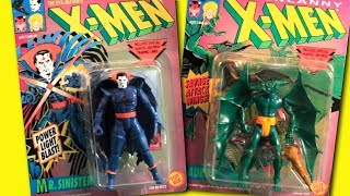 Marvel X-Men Evil Mutants Cartoon Toys Opening & Review | Mr. Sinister | Sauron | HD 2017