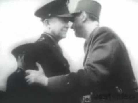 Le Chant des Partisans/ French WWII partisans's song. (French army Choir)