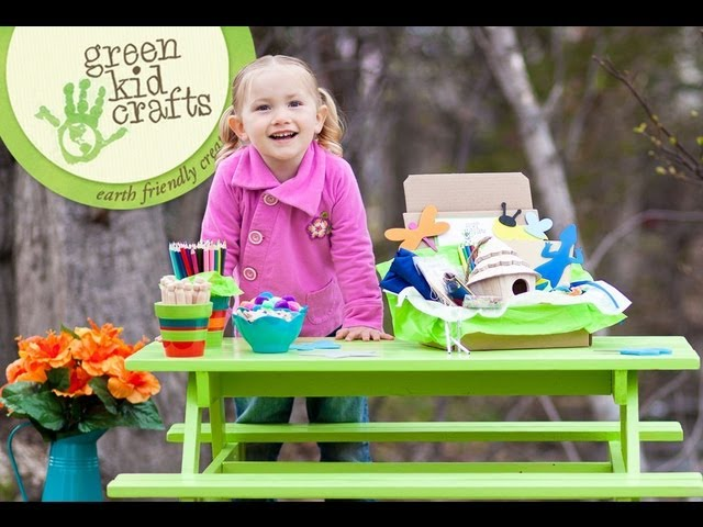 Ana and I love the Green Kid Crafts Box!