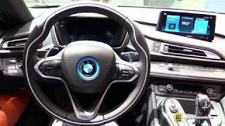 2019 BMW i8 Coupe   Exterior and Interior Walkaround   2018 Detroit Auto