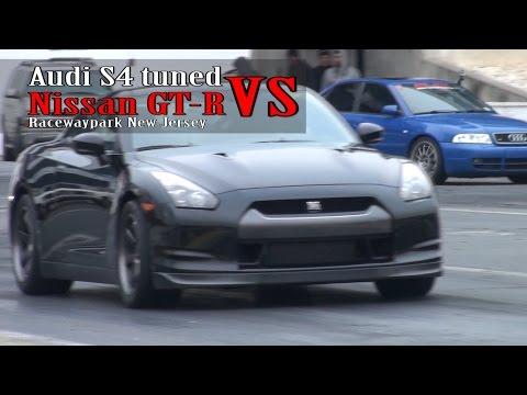 Audi S4 Tuned vs Nissan GT-R