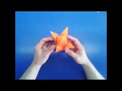 Тюльпан из бумаги.Оригами тюльпан.Origami Tulip.How to make an origami Tulip
