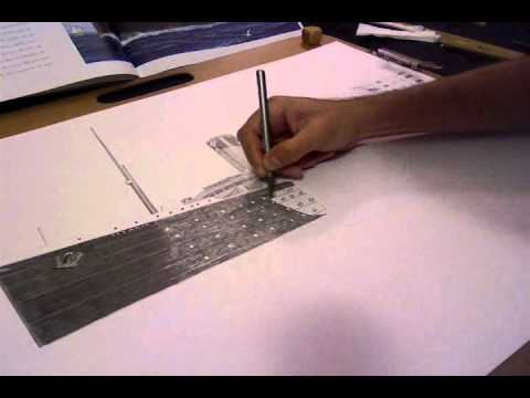 Titanic Wreck Drawing Titanic 100th Anniversary