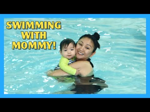 Swimming With Mommy! video