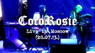 CocoRosie - Smokey Taboo (Live in Moscow 28.07.13. at Avant Fest)