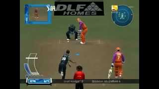 six wickets in an over DC - IPL  5 cricket
