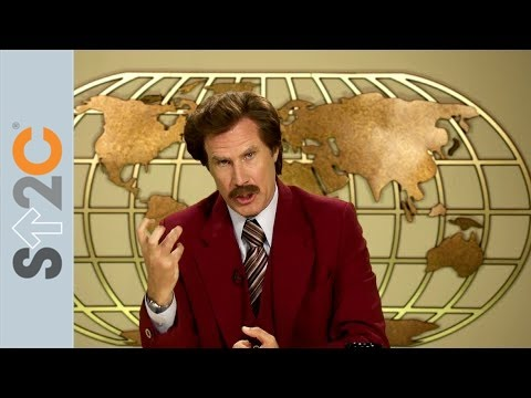 Ron Burgundy is Sick of Cancer!