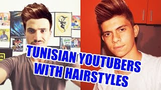 "PHOTO TAFRIK // TUNISIAN YOUTUBERS WITH HAIR-STYLES ""OUICH & HARDWARE TN"""