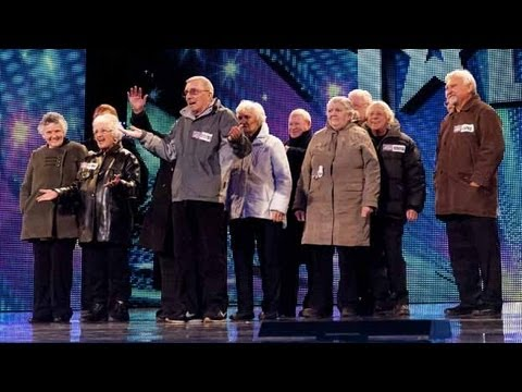 The Zimmers - Britain s Got Talent 2012 audition - UK version