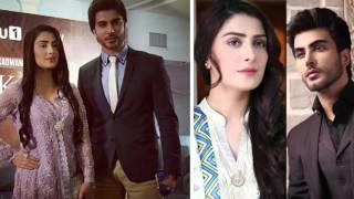 Ayeza Khan &  Imran Abbas New Drama Tum Kon Piya