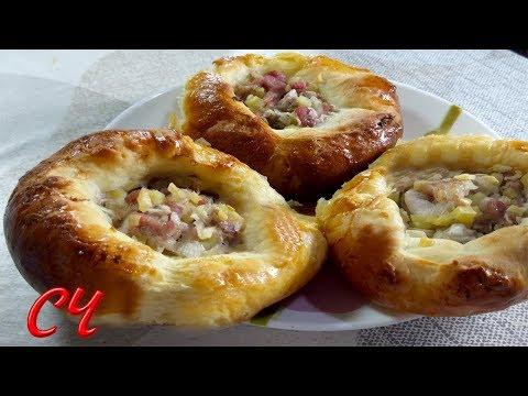 Мини-Курник..Отличные Пироги с Мясом ! /Pies with Meat