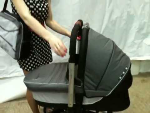 Видео как снять люльку с коляски