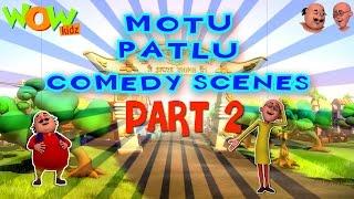 Motu Patlu Comedy Scenes Compilation Part 2 - 30 Minutes of Fun! As seen on Nickelodeon