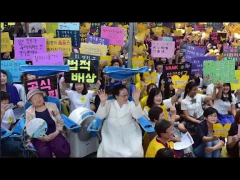 South Korea and Japan reach deal on 'comfort women...