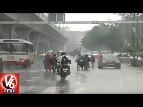Weather Report | IMD Predicts Heavy Rains In Telangana State For Next 3 Days | V6 News