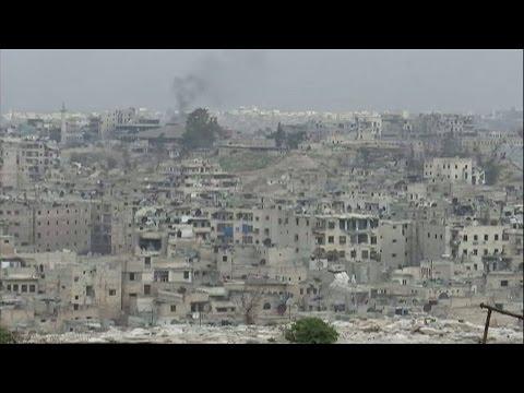 Syria: A rare look inside Aleppo, a city left in ruins