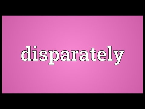 Header of disparately