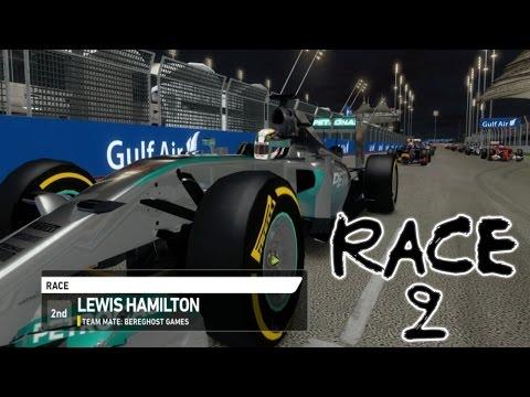 F1 2014: Race 2 - Bahrain International Circuit (PC)
