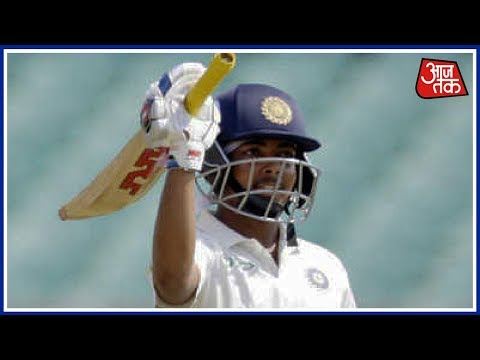 Prithvi Shaw Slams Century On His Debut Test For India   Breaking News