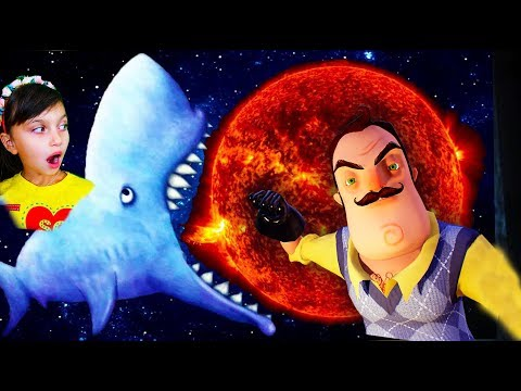 Tasty Blue АКУЛА СЪЕЛА ЗЕМЛЮ 5 000 000 млн мультик голодной рыбки приключения видео для детей