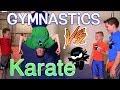Karate Kid Vs Gymnastics Kid Challenge   You Decide The Winner