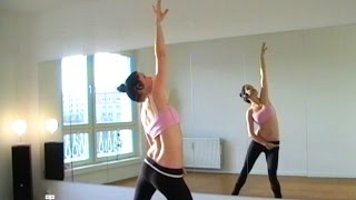 Bellydance FLEXIBILITY WARM-UP (pt2) ALL JOINTS - with Coco
