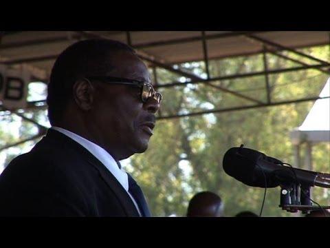 Malawi: cérémonie d'intronisation du président Mutharika