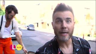 Hey Boy Behind The Scenes with Take That