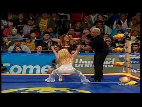 GUERRA DE TITANES 2009  - SEXY STAR VS FABY APACHE parte 1 de 2