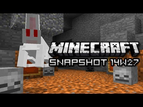 Minecraft: KILLER RABBITS Snapshot 14w27b