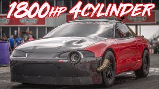 Red Demon 1800HP 4 Cylinder 80psi of Boost! - The Quest for 6