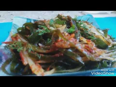 Морская капуста по корейски